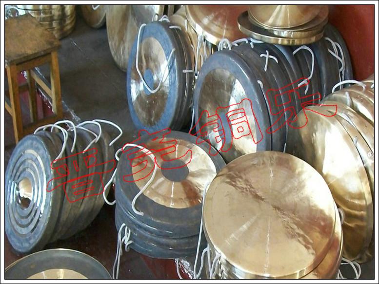 锣、钹、镲铜老友--山西省襄汾县晋尧威风锣鼓粉炒视频乐器图片